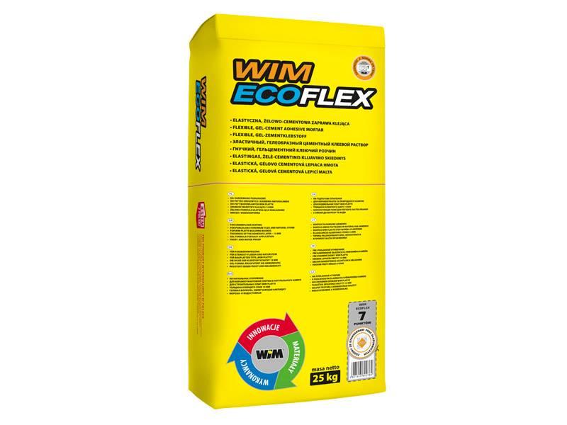 WIM ECOFLEX C2T 25 kg (żelowo-cementowy klej)