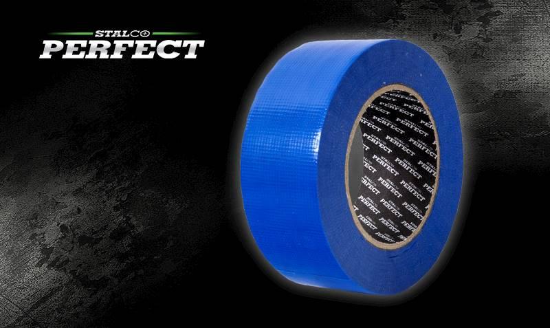 Taśma zew. PE 48x50m niebieska STALCO