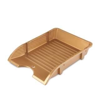 Pólka na biurko niełamliwa A4 złota DONAU