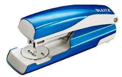 Zszywacz średni metal LEITZ niebies 5502-10-36