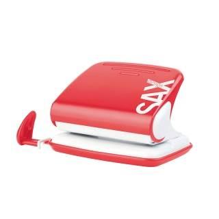 Dziurkacz SAX 318 20k czerwony
