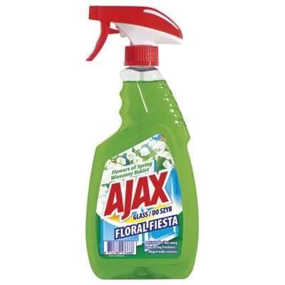 Płyn do szyb AJAX pomp. 500 zielony