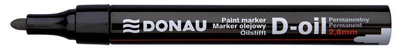 Marker olej. DONAU gru. czar 2,8 7369001PL-01