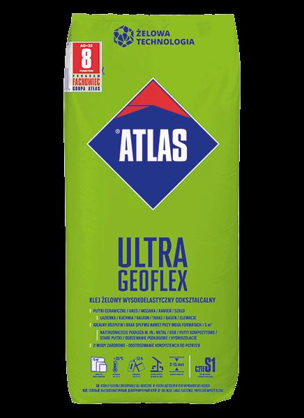 Atlas GEOFLEX ULTRA - 25kg - wysokoelastyczny, odkształcalny, żelowy, C2TE S1