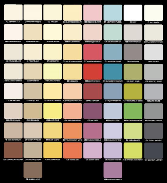 C1 - 2,5L - biały diament - Magnat Ceramic - farba ceramiczna