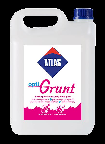 ATLAS - optiGRUNT - 5kg - uniwersalna emulsja gruntująca