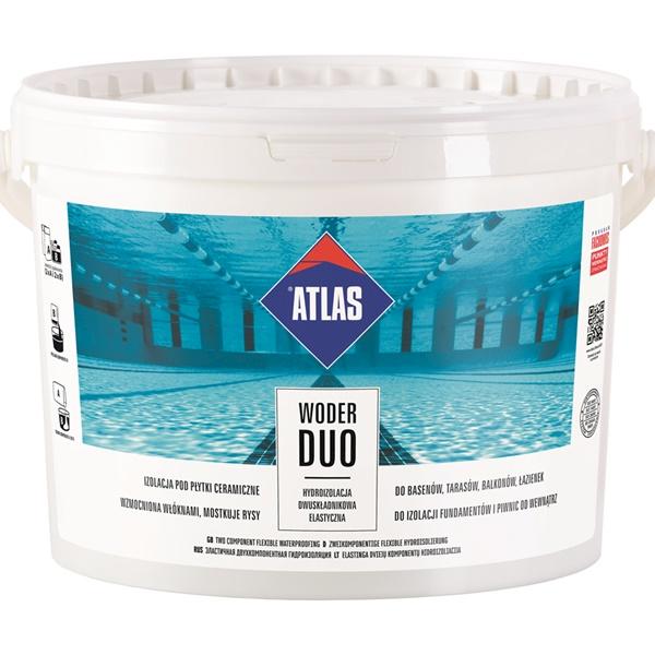 ATLAS - WODER DUO - 16kg - hydroizolacja dwuskładnikowa elastyczna