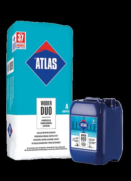 ATLAS - WODER DUO - B - skł. mokry - 8kg - hydroizolacja dwuskładnikowa elastyczna