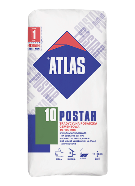 POSTAR 10 - 25kg - posadzka cementowa (10-100mm)