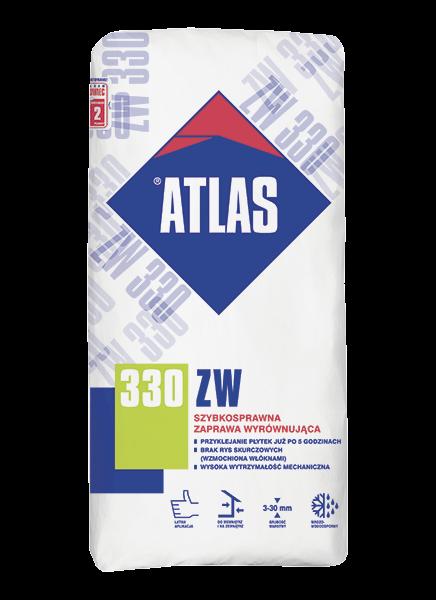 Atlas ZW 330 - 25kg - szybkosprawna zaprawa wyrównująca