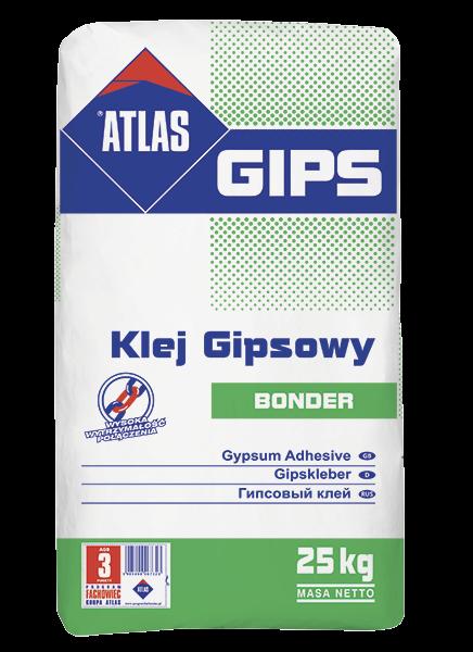 Atlas BONDER- 25kg - klej do płyt gipsowo-kartonowych