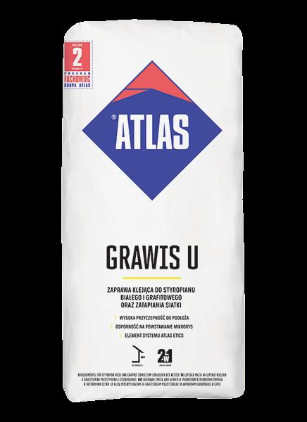 Atlas GRAWIS U - 25kg - 2w1 - zaprawa klejąca i do zatapiania siatki