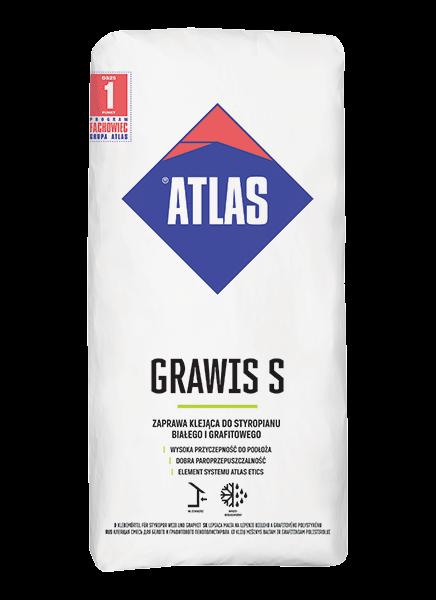 Atlas GRAWIS S - 25kg - zaprawa klejąca do styropianu