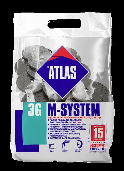 Atlas M-SYSTEM PP - L250 BX - M8/FI 6,5 - 21szt
