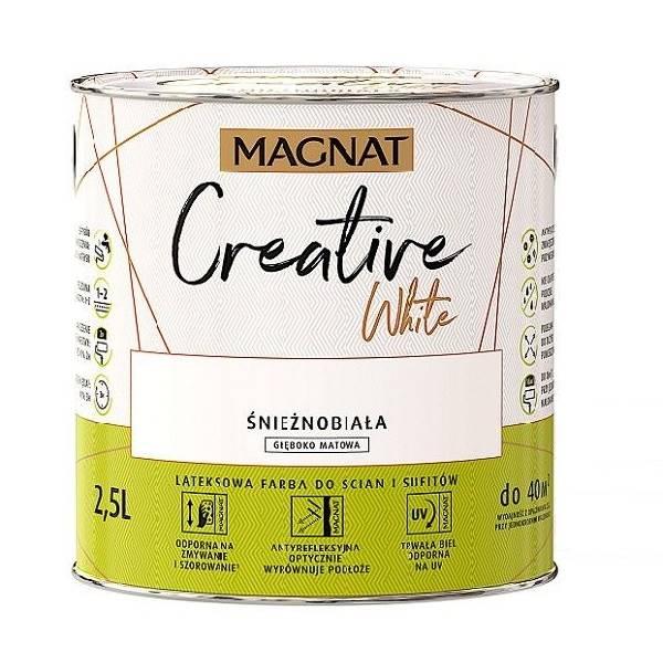 MAGNAT Creative White - 2,5L / 10L - emulsja lateksowa