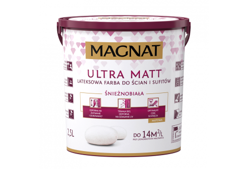 MAGNAT Ultra Matt - 2,5L / 5L / 10L - biała