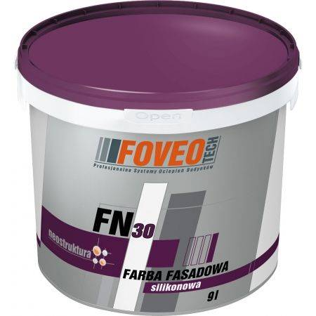 Foveo FN30 - 0,9L - silikonowa farba fasadowa
