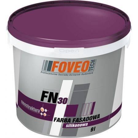 Foveo FN30 - 9L - silikonowa farba fasadowa