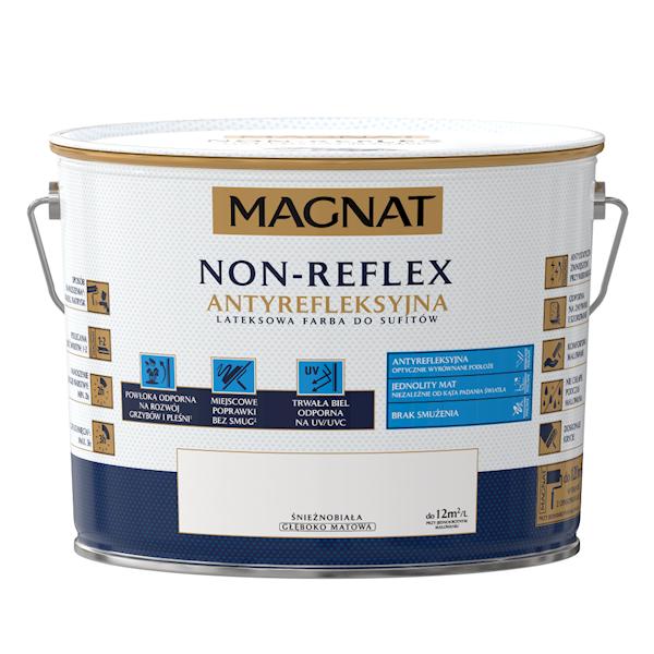 MAGNAT NON REFLEX - 10L - lateksowa farba do sufitów - GŁĘBOKO MATOWA