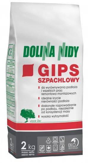 Gips szpachlowy - NIDA