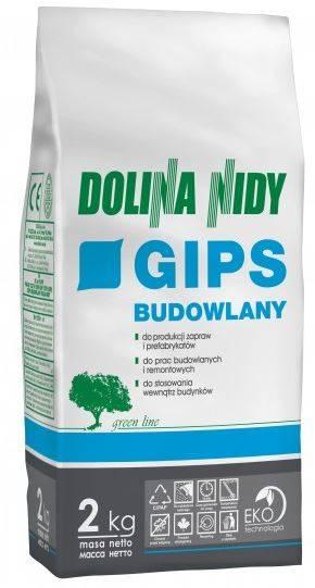 Gips budowlany - NIDA
