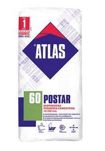 POSTAR 60 - 25kg EXPRESOWA POSADZKA CEMENTOWA ATLAS