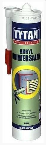 AKRYL uniwersalny - szary - 280ml - TYTAN PRO