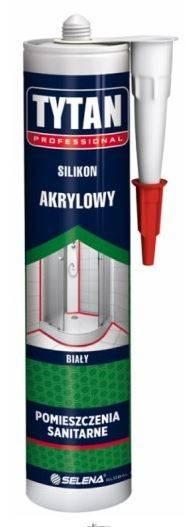 SILIKON akrylowy - biały - 280ml - TYTAN PRO