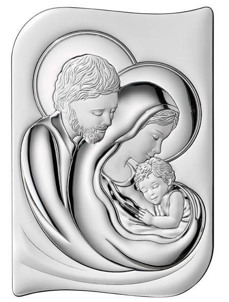 Obrazek Srebrny Św. Rodzina 12x17