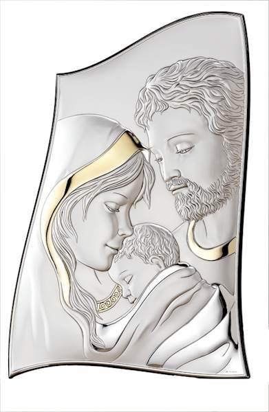 Obrazek Srebrny Św. Rodzina 11,5x16,5