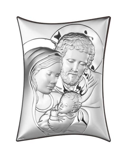 Obrazek Srebrny Św. Rodzina 15x21