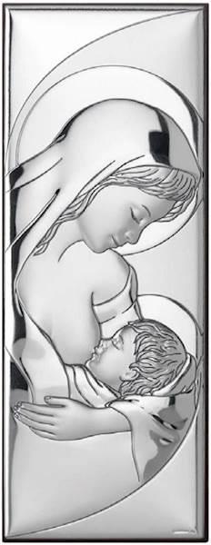 Obrazek Srebrny Matka Boża Karmiąca 5,5x14