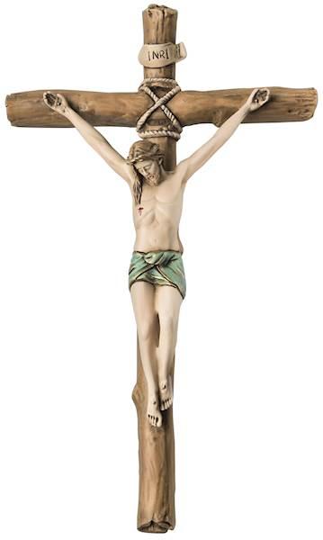 Krzyż Klasyczny Malowany 13,5x23