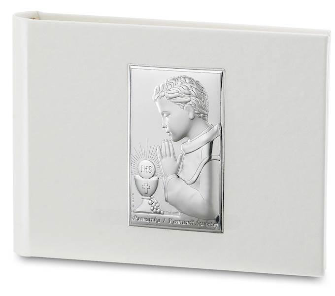 Album I Komunia Św. ze Srebrnym Obr.Chłopiec 21x15
