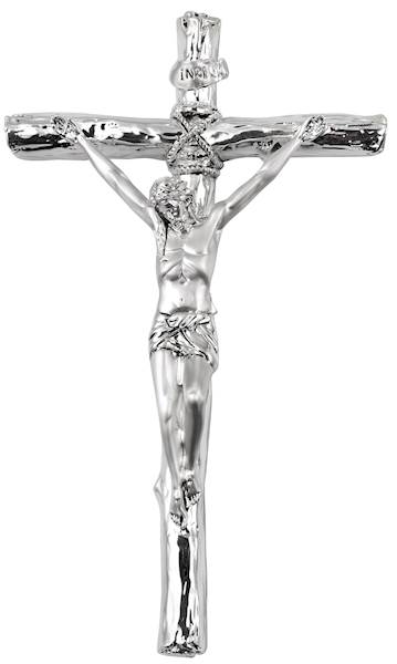 Krzyż Srebrny 13,5x23  cm
