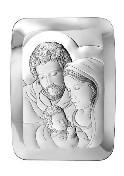 Obrazek Srebrny Św. Rodzina 13x18