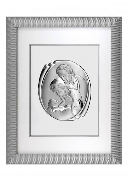 Obraz Srebrny w Ramie Święta Rodzina 51,5x65,5