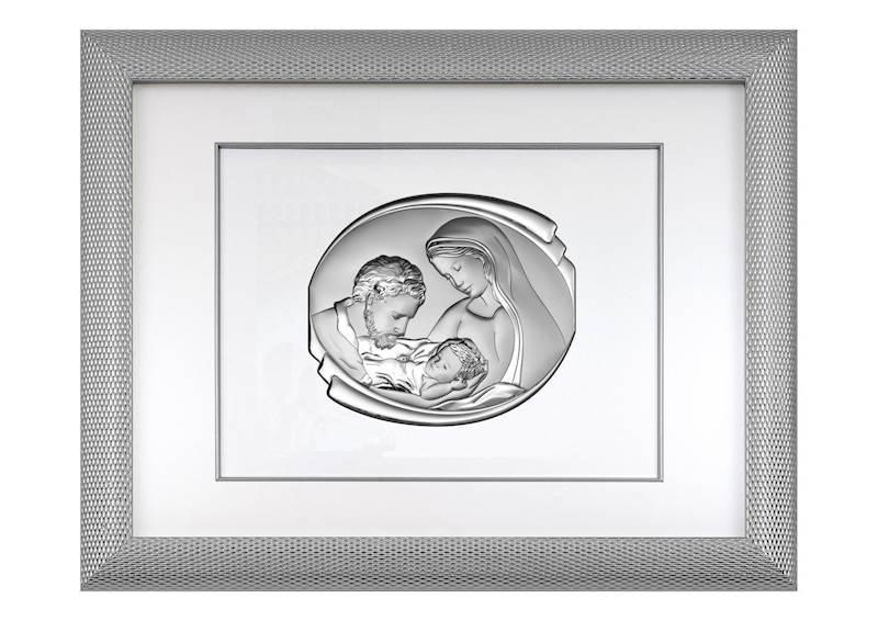 Obraz Srebrny w Ramie Święta Rodzina 65,5x51,5