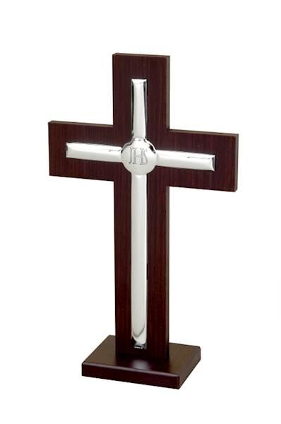 Krzyż Srebrny h17,5cm