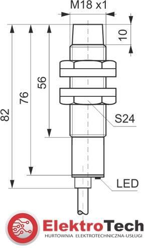 SELS CZUJNIK INDUKCYJNY PCIA8R 230V