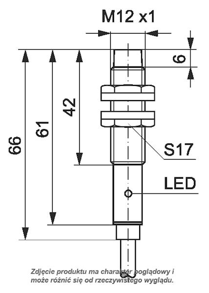 SELS CZUJNIK INDUKCYJNY PCID4RP 30V DC