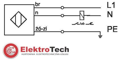 SELS CZUJNIK INDUKCYJNY PCIA10Z 230V