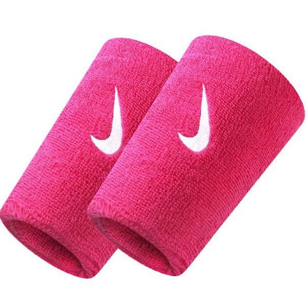 Frotki na ręce NIKE SWOOSH Wristbands różowe