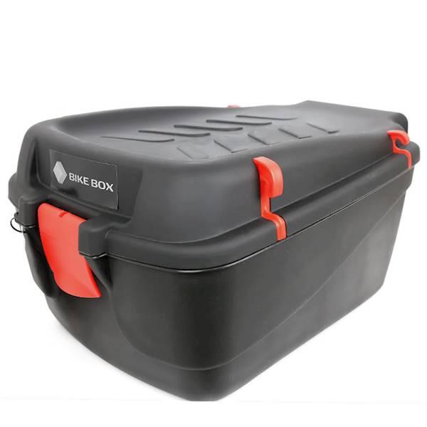 Pojemnik - kuferek na bagażnik rowerowy