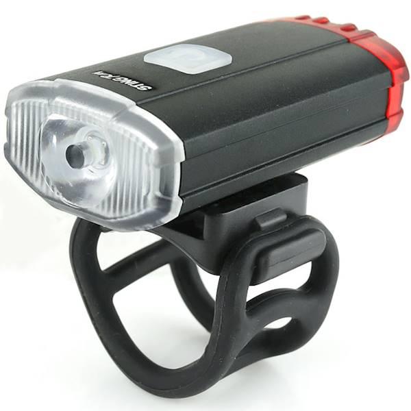 Lampa na przód/tył 150 lumenów USB