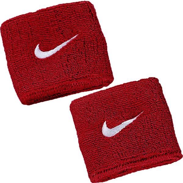 Frotki na ręce NIKE SWOOSH Wristbands czerwone
