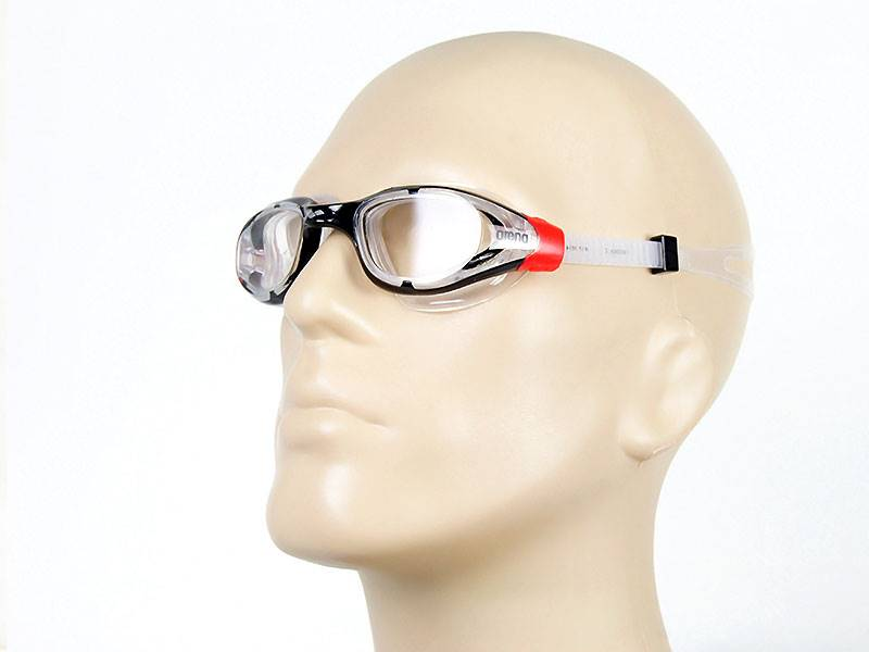 Okulary do pływania ARENA Vulcan X - red/clear