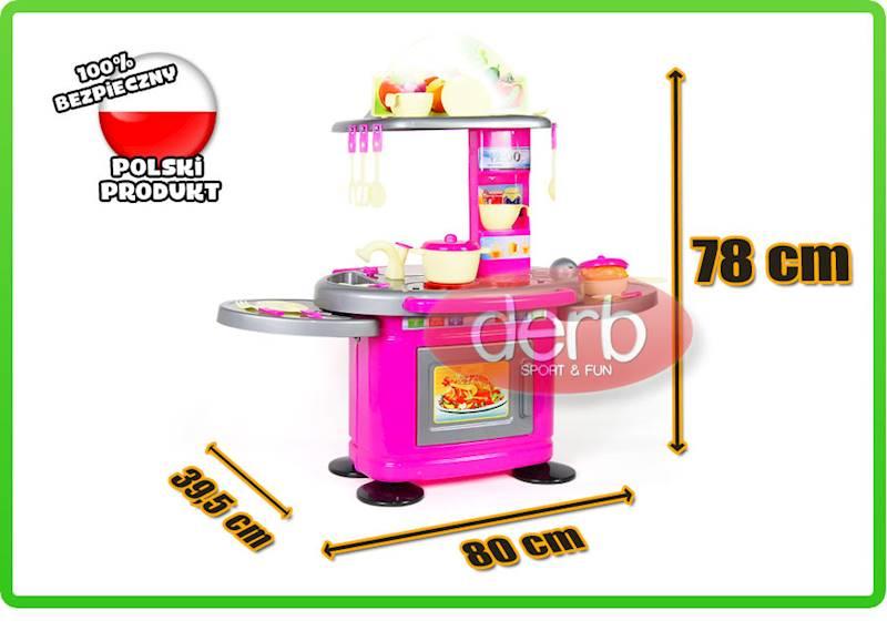 Kuchnia dla dzieci 78 cm z elektroniką