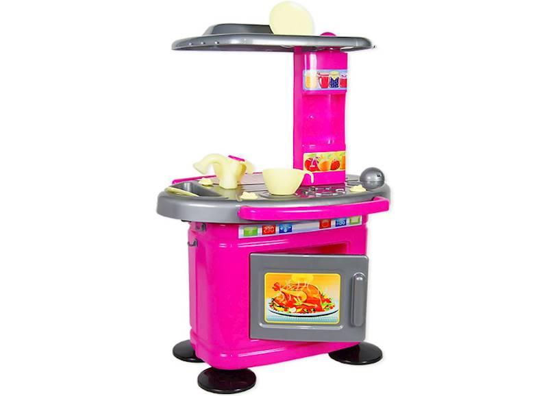 Kuchnia dla dzieci 67 cm - Różowa