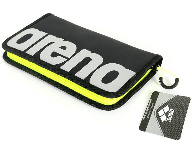Organizer, portfel ARENA - żółty